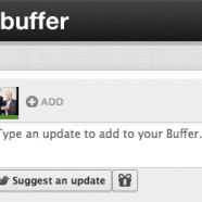 Buffer Twitter App