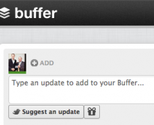 Buffer Twitter App